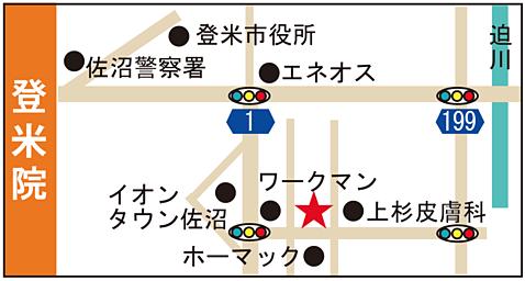 登米巻き爪の地図